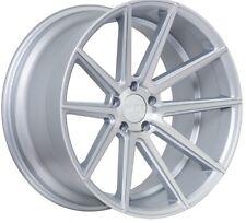 F1R F27 | 5X4.75 5X120 | 18X8.5 +35 | MACHINED SILVER | WHEELS RIMS | BMW
