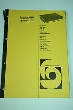 Bang & Olufsen Beocord VHS91 Service Manual