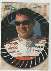 1999 Maxx #72 Tony Stewart rookie card, NASCAR HOF