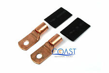 "Car Audio 1/0 Gauge Copper 5/16"" Hole Ring Terminal Connectors CRT0.516P - 2 pcs"