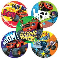 Blaze Stickers x 5 - Blaze and the Monster Machines Birthday Party Favours Loot