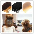 Hair Styler Volume Bouffant Beehive Shaper Bumpits Foam On Clear Comb Xmas Gift