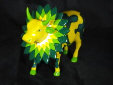 """Cow Parade #9247 """"How Now Green Cow"""" 2001 - Exc Condition - EXTREMELY RARE"""