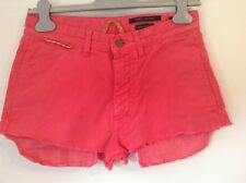 Neues AngebotBnwtt 100% Auth by Marc Jacobs, abgeschnitten rosa Denim Shorts. 44/uk12