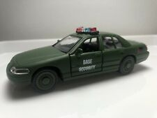 GI JOE MILITARY POLICE MAISTO FORD INTERCEPTOR 1/44 SCALE.
