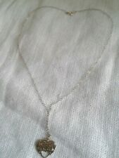 Special Nan Pendant 9ct Gold Heart
