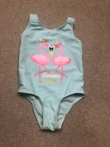 Primark Girls Swimming Costume In Turquoise🦩Size 2-3 Years