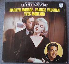 Le Milliardaire - Marilyn Monroe - Y Montand - BO du film / OST, LP - 33 Tours