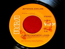 JEFFERSON AIRPLANE~PLASTIC FANTASTIC LOVER~RARE SLEEVE~RCA 74-0150~ ROCK  45