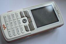 Sony Ericsson W800i White (Unlocked) Basic Button Mobile Phone
