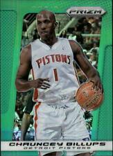 2013-14 Panini Prizm Prizms Green Pistons Basketball Card #93 Chauncey Billups