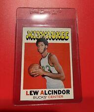 1971 Topps Basketball #100 Lew Alcindor