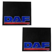 2 pcs RUBBER MUDFLAPS MUD MUD FLAP GUARD FOR DAF XF LF CF LORRY 610 x 390mm