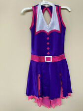 """New """"Summer in the City""""skating/ ice dance dress size adult extra small"""
