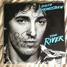 Bruce Springsteen SIGNED Vintage Original 12' The River Album Vinyl- JSA LOA COA