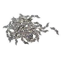 100 Stück Engel Flügel Spacer Perlen Handwerk Lose Perlen für DIY