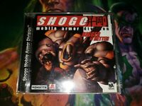 Shogo Mobile Armor Division PC CD-ROM Game Monolith 1998 MINT DISC PHOTOS!