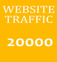 20.000 Besucher-Traffic - Bewerbung ihrer Website - Marketing und Promotion Top
