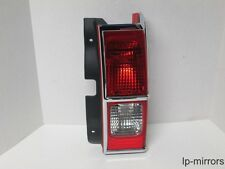 2006-2010 HUMMER H3 RIGHT PASSENGER TAIL LIGHT CHROME TRIM