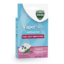 Vicks VapoPads Rosemary & Lavender Cough & Cold Relief Essential Oils Infused
