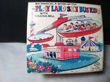 Playland Sky Bus Ride Yone Wind Up  Mint Box