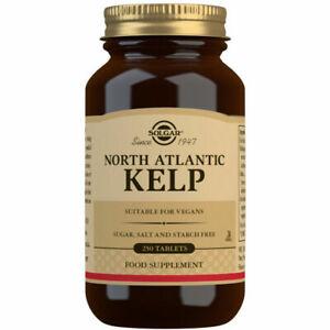 Solgar North Atlantic Kelp Iodine 225ug 250 TABLETS