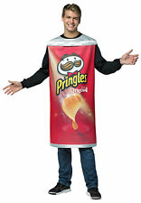 Pringles Can Snack Food Chips Adult Funny Costume Tunic Halloween Rasta Imposta