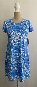 Spunkwear Floral Print Dress sz Medium New NWT