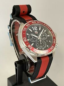TAG Heuer Formula 1 McLaren Anniversary Limited Edition • Box & Papers • Mint