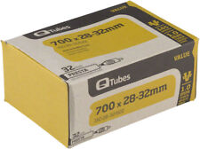 Q-Tubes Value Series Tube with 32mm Presta Valve: 700c x 28-32mm