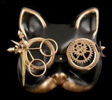 Steampunk Masque - Cauchemar Kitty - Gothique accessoire FUTURISTE kostümmaske