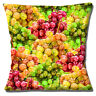 """NEW NOVELTY GREEN RED GRAPES FRUIT PHOTO PRINT DESIGN  16"""" Pillow Cushion Cover"""