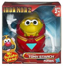 Hasbro Mr Potato Head Iron Man Tony Starch Playskool NIB BX1
