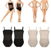 Girls Kids Underlayer Leotard Undergarment Camisole Ballet Gymnastics Dance Wear