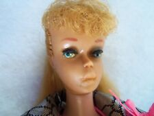 Gorgeous Vintage 1960s Barbie #5 Blonde Hair Ponytail Perfect new in display box