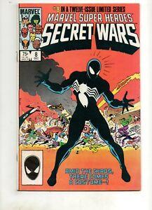 Marvel Super-Heroes Secret Wars 8 Fn 6.5 1ST/ORIGIN VENOM Amazing Spider-Man 300