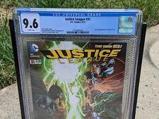 Justice League 31 DC 2014 CGC 9.6 1st Jessica Cruz Green Lantern HBO Max