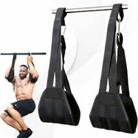 2x Sling Pull up Suspension Strap Hanging on Chin Up Bar Abdominal Reverse Situp