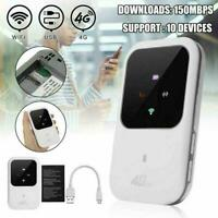 Unlocked 4G LTE Mobile Broadband WiFi Wireless Router Portable MiFi Hotspot Y3J5