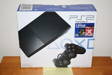 Sony PlayStation 2 Slim Black Console w/Star Wars Battlefront II NEW SEALED RARE