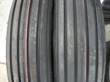 TWO 600x16,6.00-16 Rib Implement Farm Tractor Tires w/Tubes DISC, Do-All 6 ply
