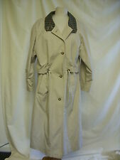 Women's Cotton Blend Full Length Trench Coats, Macs Coats & Jackets