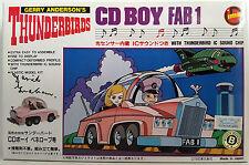 THUNDERBIRDS : FAB 1 CD BOY BOXED PLASTIC MODEL KIT SIGNED BY DAVID GRAHAM