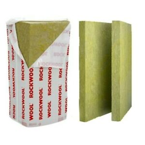 Rockwool RW5 100mm Thickness (100KG/M³) Thermal/Sound/Fire Insulation Slab