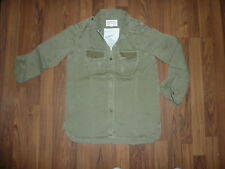 Current Elliott the the Perfect shirt ARMY DESTROY Mini Studs taille 0 XS/XS