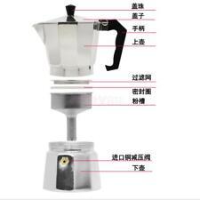 Metal Coffee Moka Maker Pot Top Expresso Latte Stove Percolator 12 Cups
