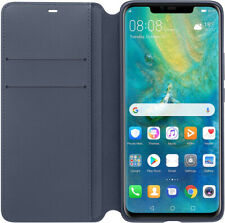 funda Huawei Mate 20 PRO Wallet Cover Azul Oscuro Original