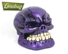 Purple Flake Jaw Custom Gearstick Skull Resin Gear Knob Stick Universal VW T1 T2