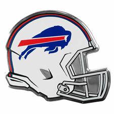 "NFL Officially Licensed Buffalo Bills Helmet Premium Aluminum Emblem 4""x3.5"""