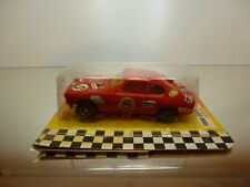 JOUEF 3657 SLOT CAR FORD CAPRI - RED L10.0cm - RARE - GOOD IN CARD-BLISTER